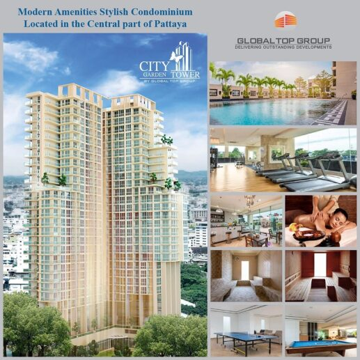 LUXURY HIGH RISE CONDOMINIUM, ONE OF THE BEST TOP 10 REAL ESTATE INVESTMENT IN PATTAYA ENG
