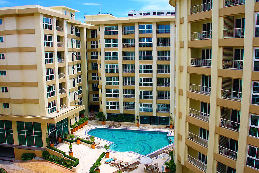 City Garden Pattaya Global Top Group condo for sale and rent
