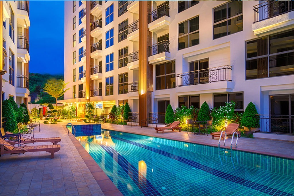 City Garden Pratumnak Global Top Group condo for sale and rent
