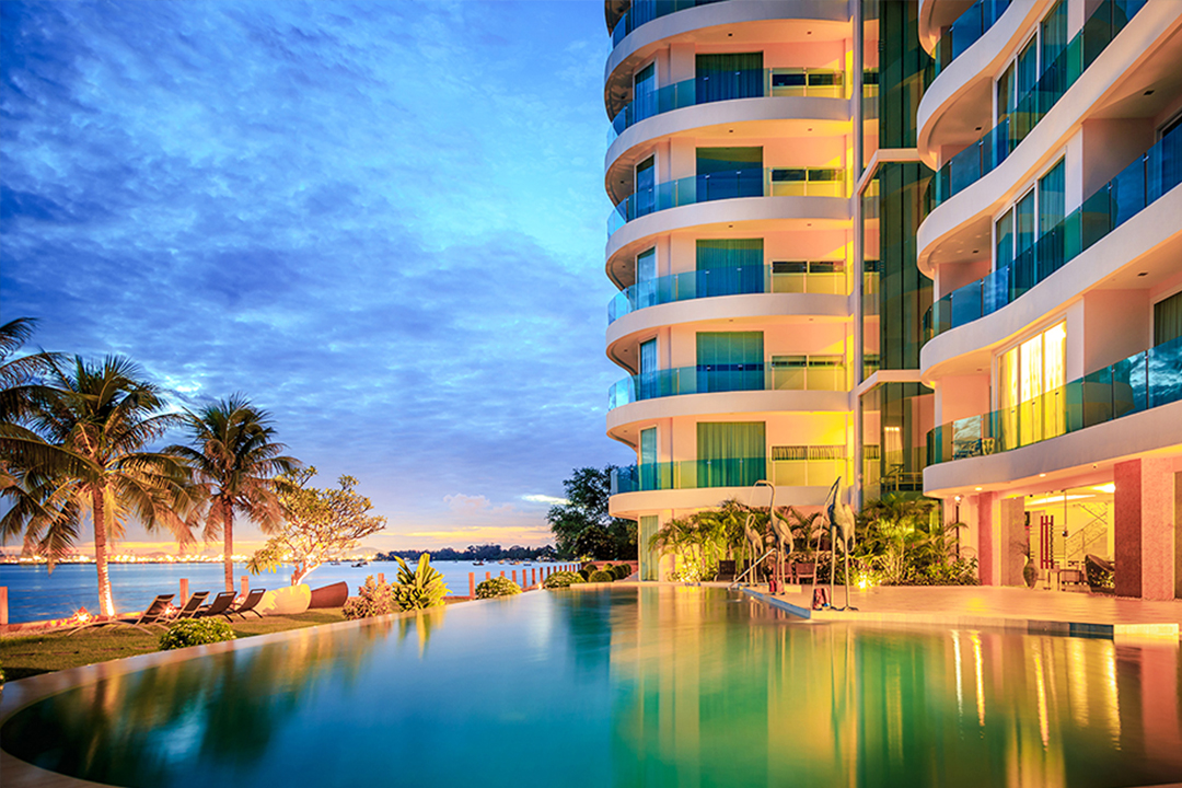 Paradise Ocean View Global Top Group condo for sale and rent
