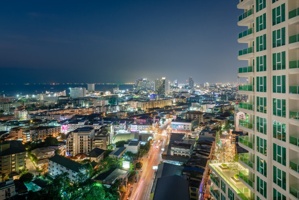 Sea View Apartment for Sale Pattaya City Garden Tower Global Top Group Pattaya 3rd Road