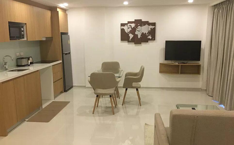 负担得起的芭堤雅公寓出售城市花园普拉图姆纳克一个大卧室