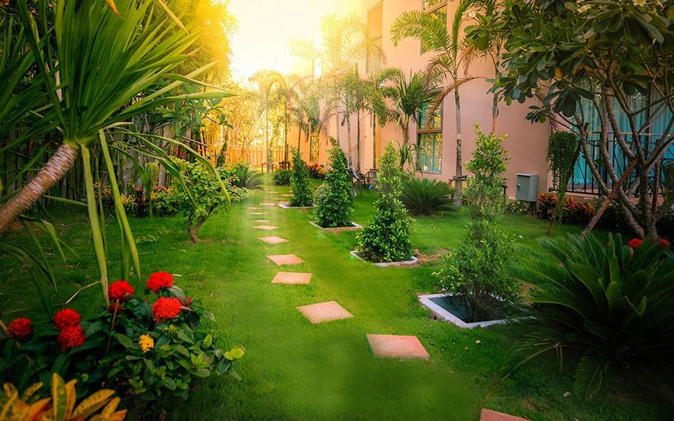 Real Estate Condo Pattaya for Rent City Garden Tropicana