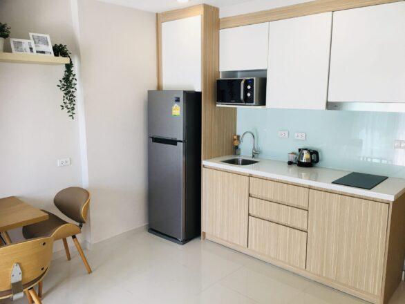 Pattaya Condo Investment Property Modern Kitchen City Garden Tropicana
