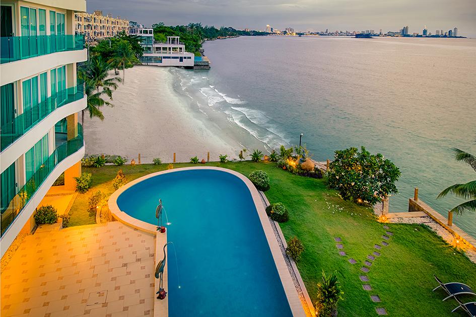 Marina Golden Bay - Pattaya Ground to Top View  - Heliton Real Estate