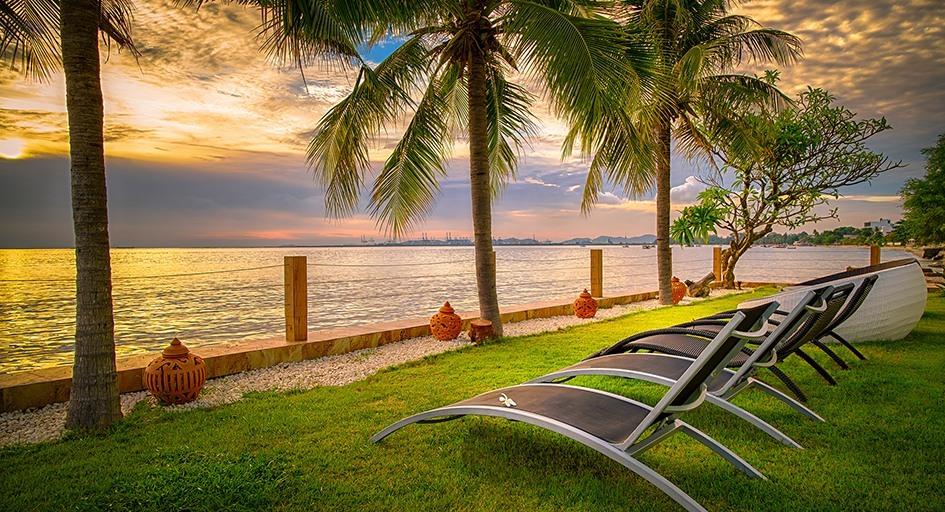 Luxurious Beachfront Condo for Rent Pattaya Sea View Paradise Ocean View