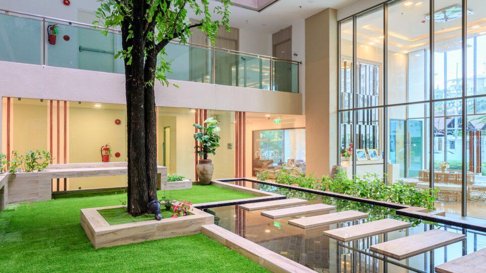 芭堤雅舒适海滩云公寓由全球顶级集团