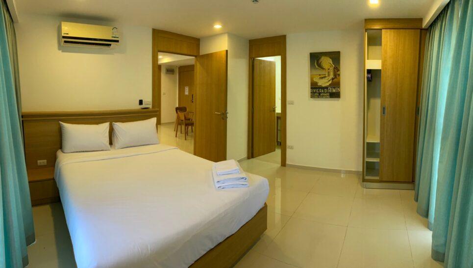 City Garden Pratumnak Two Bedroom Condo for Rent Pattaya Kasetsin Cozy Beach