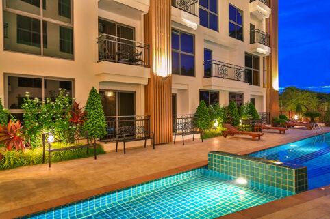 Condo Pratumnak for Rent Peaceful and Popular Location at City Garden Pratumnak