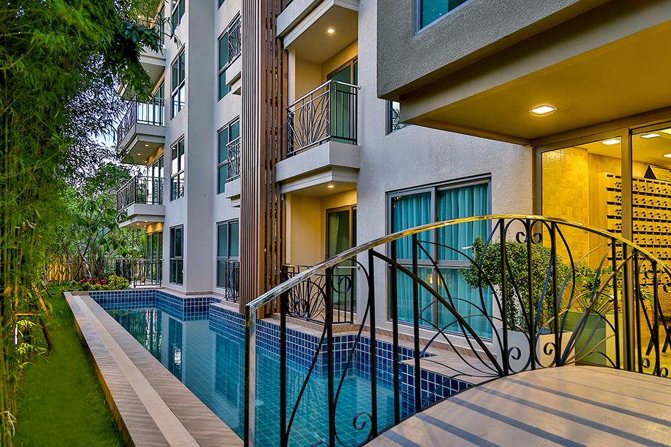 Condo Pattaya for Rent Water Views Swimming Pool City Garden Tropicana Global Top Group
