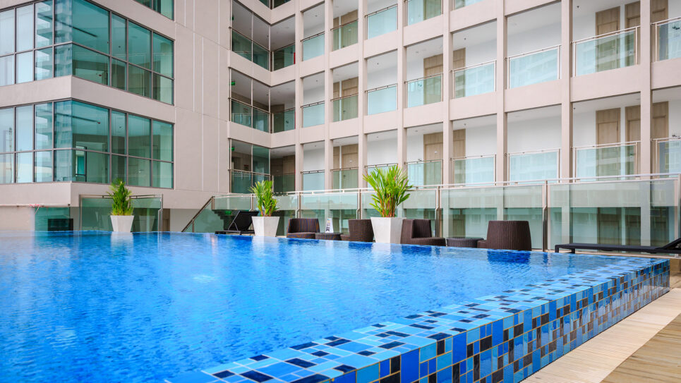 Swimming Pool Panoramic Ocean View Condo for Rent Pattaya The Cloud By Global Top Group