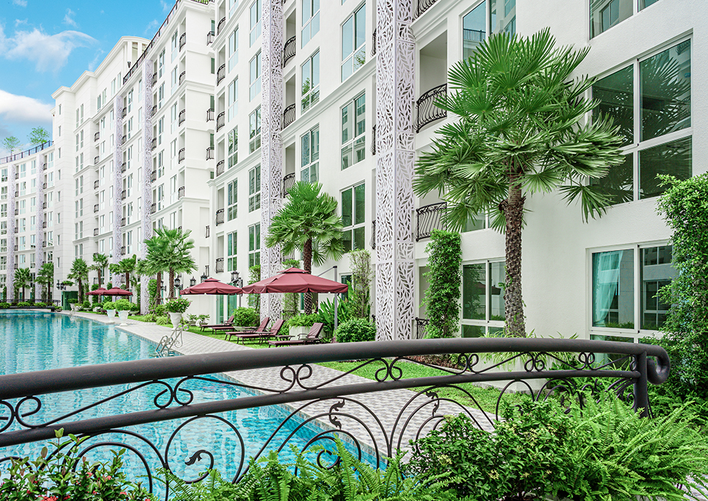 Central Pattaya Properties Condo for Rent Olympus City Garden Global Top Group