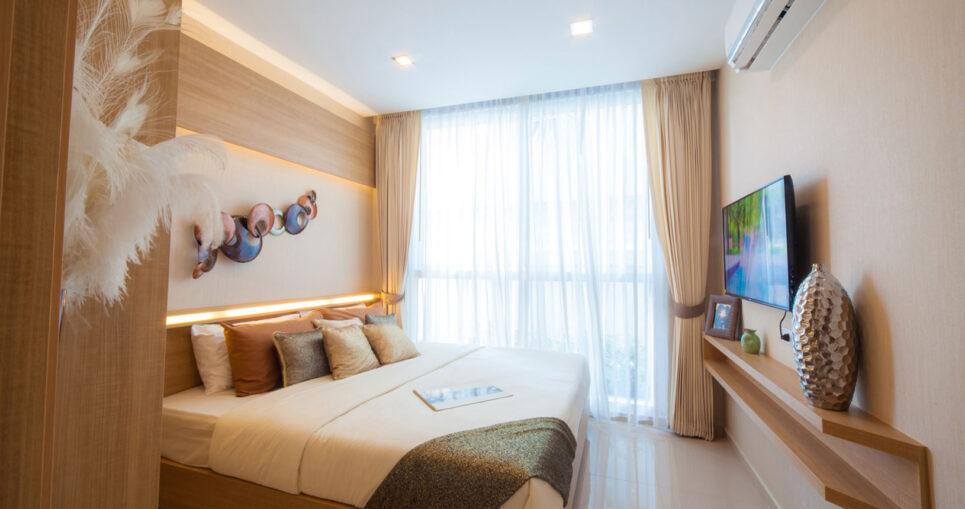 Luxury Rental Condo Prized Position Opulent Living Olympus City Garden Condominium Pattaya