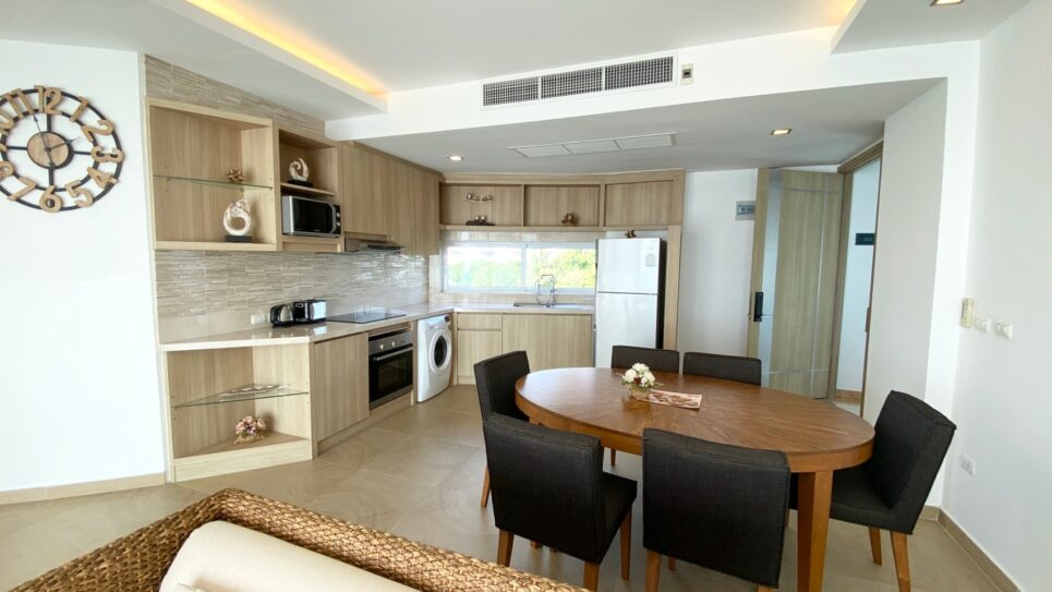 Condo for Rent Pattaya Two Bedroom Unit 5 Star Facilities Paradise Ocean View