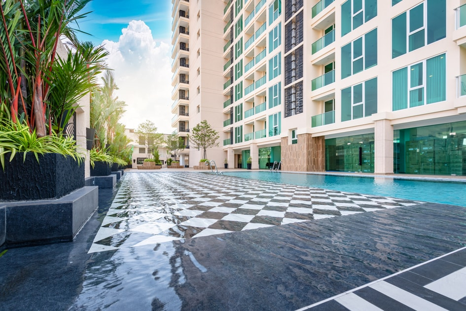 Property for Rent Pattaya Studio City Garden Tower Affordable Price