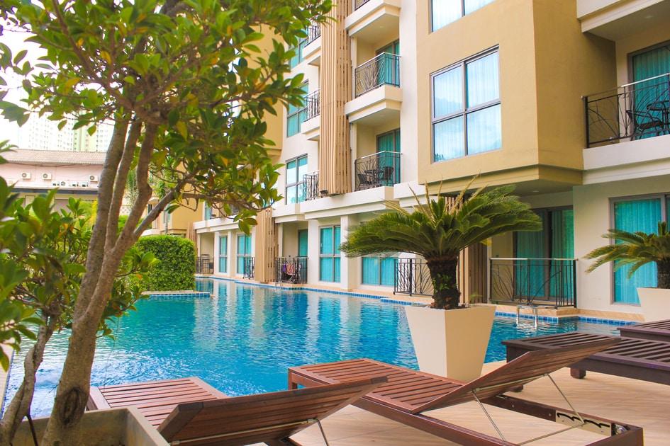 Two Bedroom Units Condo for Rent Pattaya City Garden Tropicana
