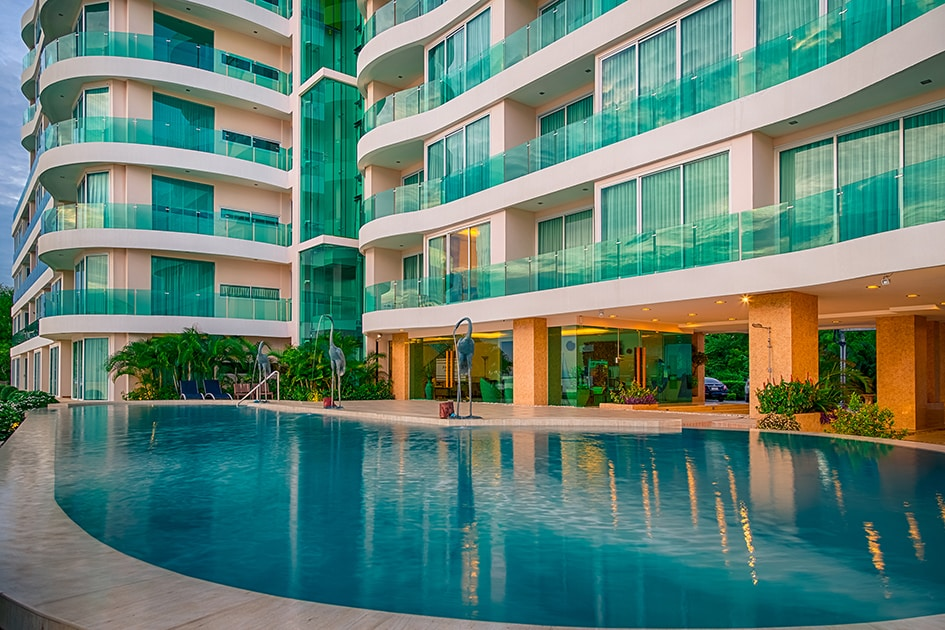 Luxury Condo for Rent Pattaya Beachside Paradise Ocean View Global Top Group