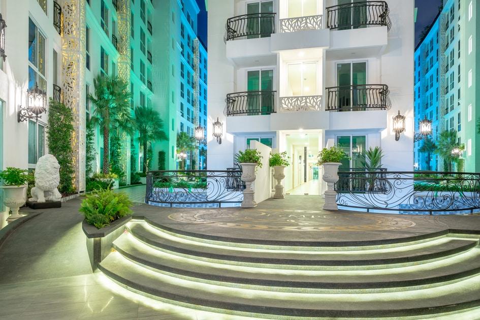 公寓出租芭堤雅和平家庭住宅奧林巴斯市花園市中心科菲路